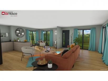 Modèle de maison SM_235_R+1_87215 6 chambres  : Photo 2