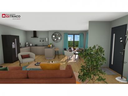 Modèle de maison SM_235_R+1_87215 6 chambres  : Photo 3