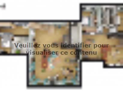 Plan de maison SM_235_R+1_87215 6 chambres  : Photo 1