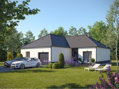 Maison neuve  à  Toutainville (27500)  - 218300 € * : photo 1