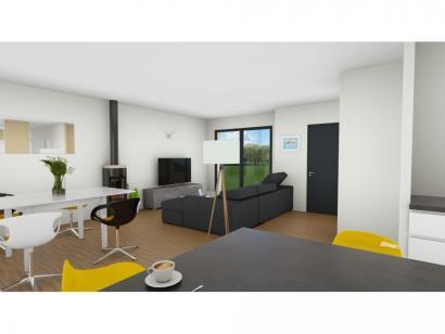 Maison neuve  à  Toutainville (27500)  - 218300 € * : photo 3