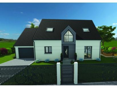 Maison neuve  à  Toutainville (27500)  - 263250 € * : photo 1