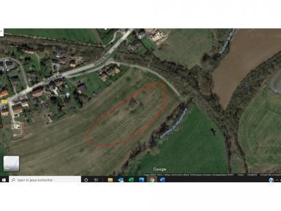 Terrain à vendre  à  Pommérieux (57420)  - 89000 € * : photo 2