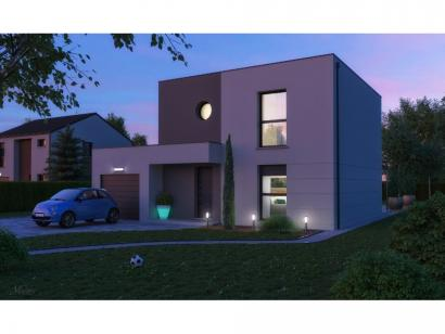 Maison neuve  à  Courcelles-Chaussy (57530)  - 255900 € * : photo 1