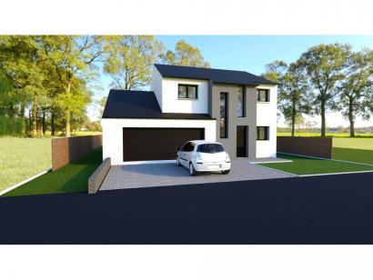 Maison neuve  à  Courcelles-Chaussy (57530)  - 238900 € * : photo 1