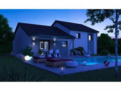 Maison neuve  à  Courcelles-Chaussy (57530)  - 255900 € * : photo 2
