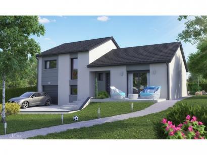 Maison neuve  à  Courcelles-Chaussy (57530)  - 255900 € * : photo 3