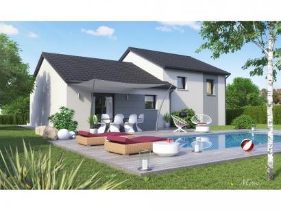 Maison neuve  à  Courcelles-Chaussy (57530)  - 255900 € * : photo 4