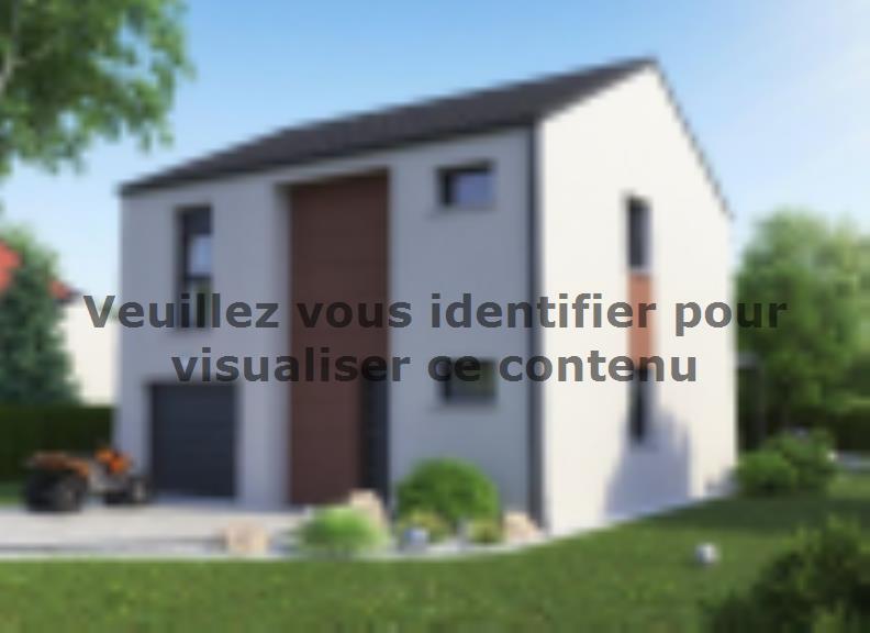 Maison neuve Courcelles-Chaussy 239900 € * : vignette 3