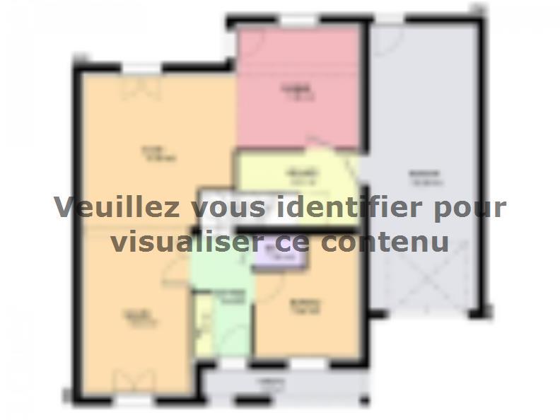 Maison neuve Courcelles-Chaussy 289000 € * : vignette 1