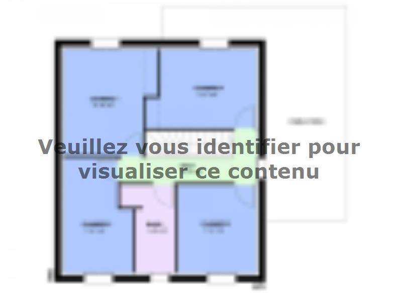 Maison neuve Courcelles-Chaussy 289000 € * : vignette 2