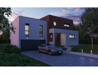 Maison neuve  à  Courcelles-Chaussy (57530)  - 329990 € * : photo 1