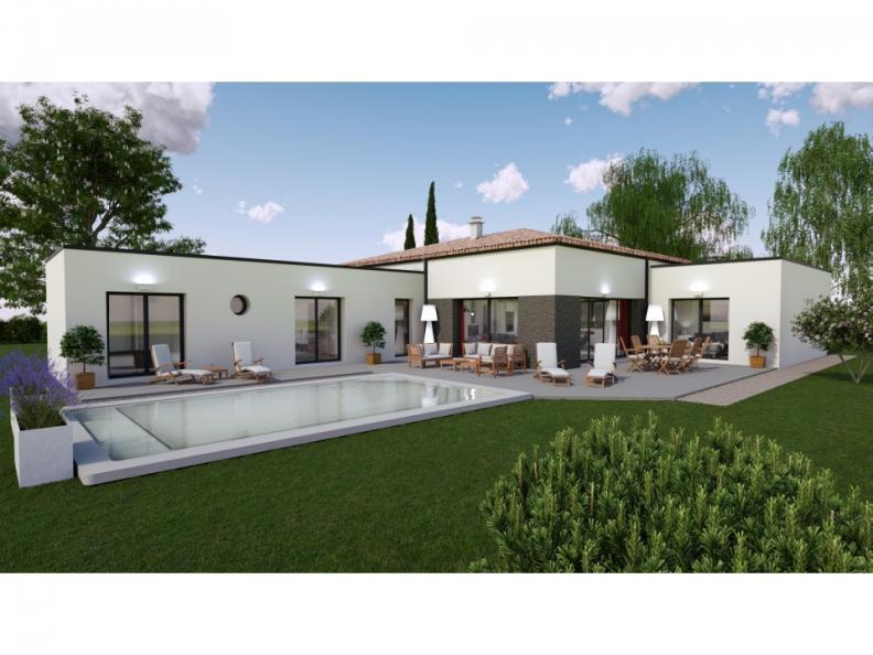 Maison neuve Fontaine-le-Comte 440000 € * : vignette 1