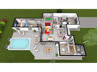 Maison neuve  à  Fontaine-le-Comte (86240)  - 440000 € * : photo 2