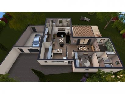 Maison neuve  à  Fontaine-le-Comte (86240)  - 310000 € * : photo 3