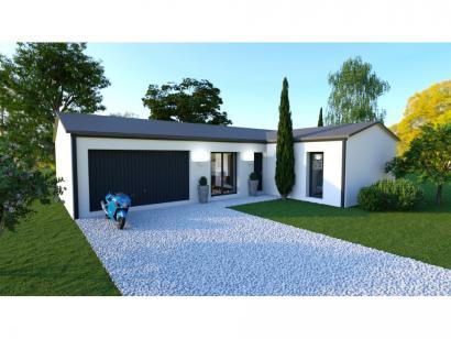 Maison neuve  à  Fontaine-le-Comte (86240)  - 186000 € * : photo 1