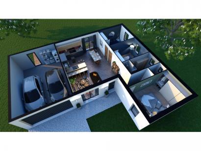 Maison neuve  à  Fontaine-le-Comte (86240)  - 186000 € * : photo 2