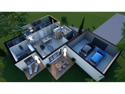 Maison neuve  à  Fontaine-le-Comte (86240)  - 214000 € * : photo 2