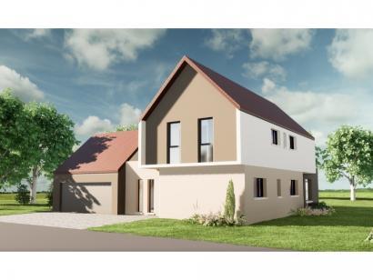 Maison neuve  à  Rustenhart (68740)  - 475520 € * : photo 1