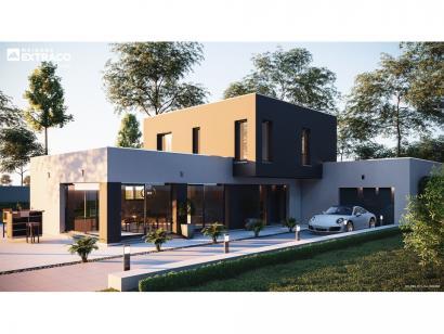 Modèle de maison SM_150_R+1_GA_100452 4 chambres  : Photo 1