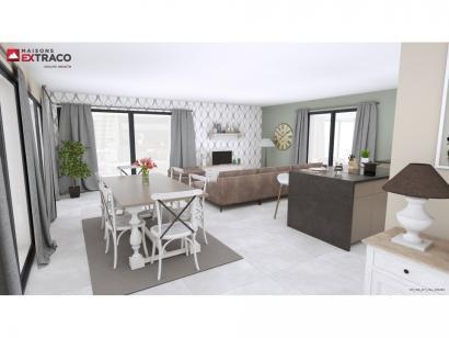 Modèle de maison SM_150_R+1_GA_100452 4 chambres  : Photo 3