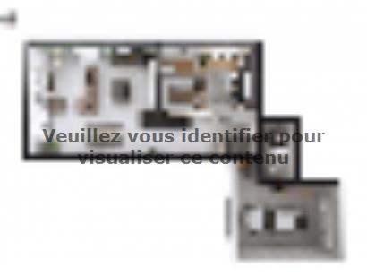 Plan de maison SM_150_R+1_GA_100452 4 chambres  : Photo 1