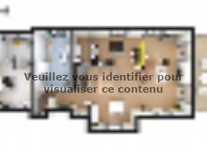 Plan de maison SM_317_ETG_SS_96406 5 chambres  : Photo 1