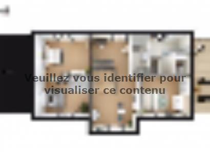 Plan de maison SM_317_ETG_SS_96406 5 chambres  : Photo 2