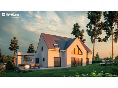 Modèle de maison SM_183_ETG_GA_100776 3 chambres  : Photo 1