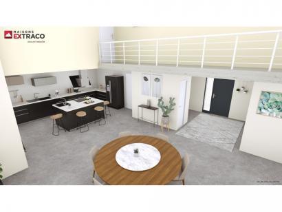 Modèle de maison SM_183_ETG_GA_100776 3 chambres  : Photo 2