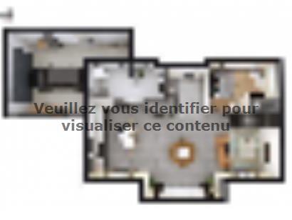 Plan de maison SM_183_ETG_GA_100776 3 chambres  : Photo 1