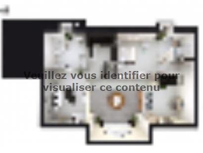 Plan de maison SM_183_ETG_GA_100776 3 chambres  : Photo 2
