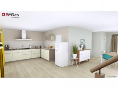 Modèle de maison SM_162_ETG_GA_103454 4 chambres  : Photo 2