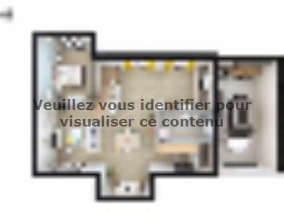 Plan de maison SM_162_ETG_GA_103454 4 chambres  : Photo 1