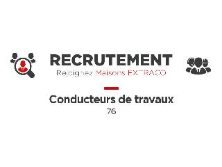 RECRUTEMENT - CONDUCTEUR DE TRAVAUX CONFIRMÉ - 76