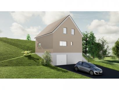 Maison neuve  à  Wingen-sur-Moder (67290)  - 259900 € * : photo 1