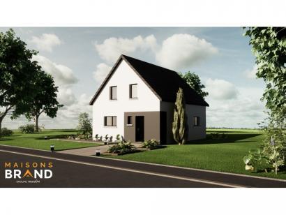 Maison neuve  à  Niederschaeffolsheim (67500)  - 299500 € * : photo 1