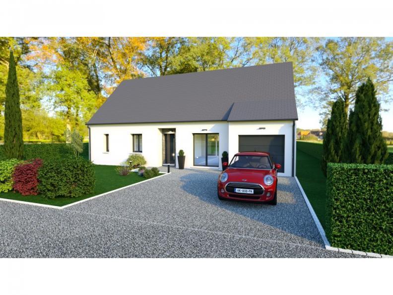 Maison neuve Beaumont-la-Ronce 208000 € * : vignette 1