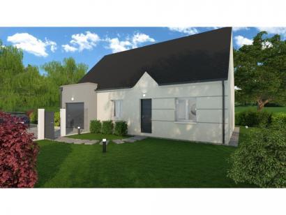 Maison neuve  à  Beaumont-la-Ronce (37360)  - 176000 € * : photo 1