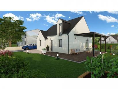 Maison neuve  à  Beaumont-la-Ronce (37360)  - 186000 € * : photo 1