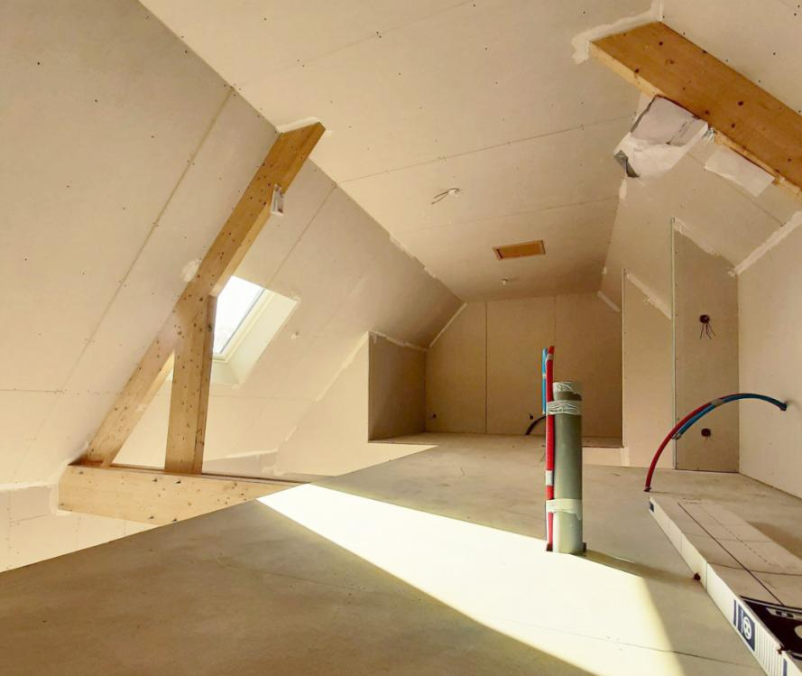 Aménager les combles de votre maison neuve : tellement plus simple avec votre constructeur !