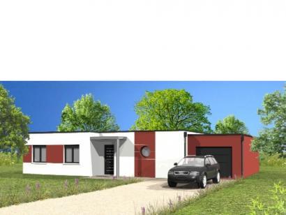 Modèle de maison Avant-Projet CHANAIS - 95 m2 - 3 chambres 3 chambres  : Photo 1