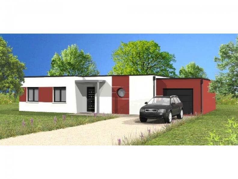 Modèle de maison Avant-Projet CHANAIS - 95 m2 - 3 chambres : Vignette 1