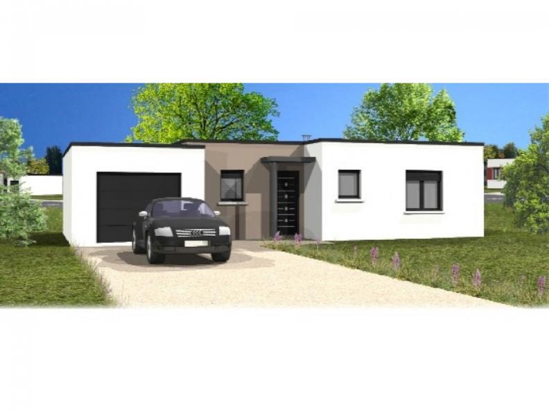 Modèle de maison Avant-Projet MARILLET - 89 m² - 2 chambres : Vignette 1