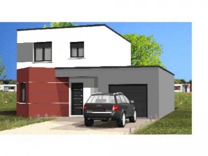 Modèle de maison Avant-Projet L'Hébergement - 91 m² - 4 chambres 4 chambres  : Photo 1