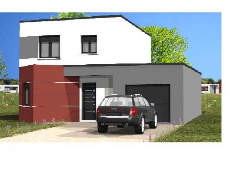 Modèle de maison Avant-Projet L'Hébergement - 91 m² - 4 chambres : Vignette 1