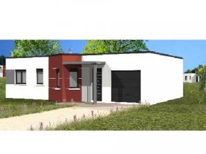 Avant-projet SOULLANS - 83 m² - 3 chambres