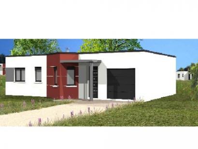 Modèle de maison Avant-projet SOULLANS - 83 m² - 3 chambres 3 chambres  : Photo 1
