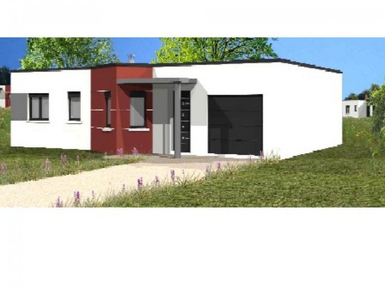 Modèle de maison Avant-projet SOULLANS - 83 m² - 3 chambres : Vignette 1