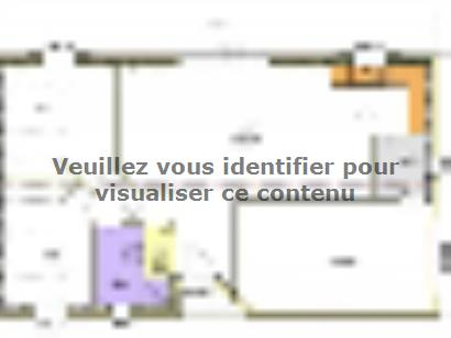 Plan de maison Avant Projet LA TRANCHE SUR MER - 75 m² - 2 chambr 2 chambres  : Photo 1